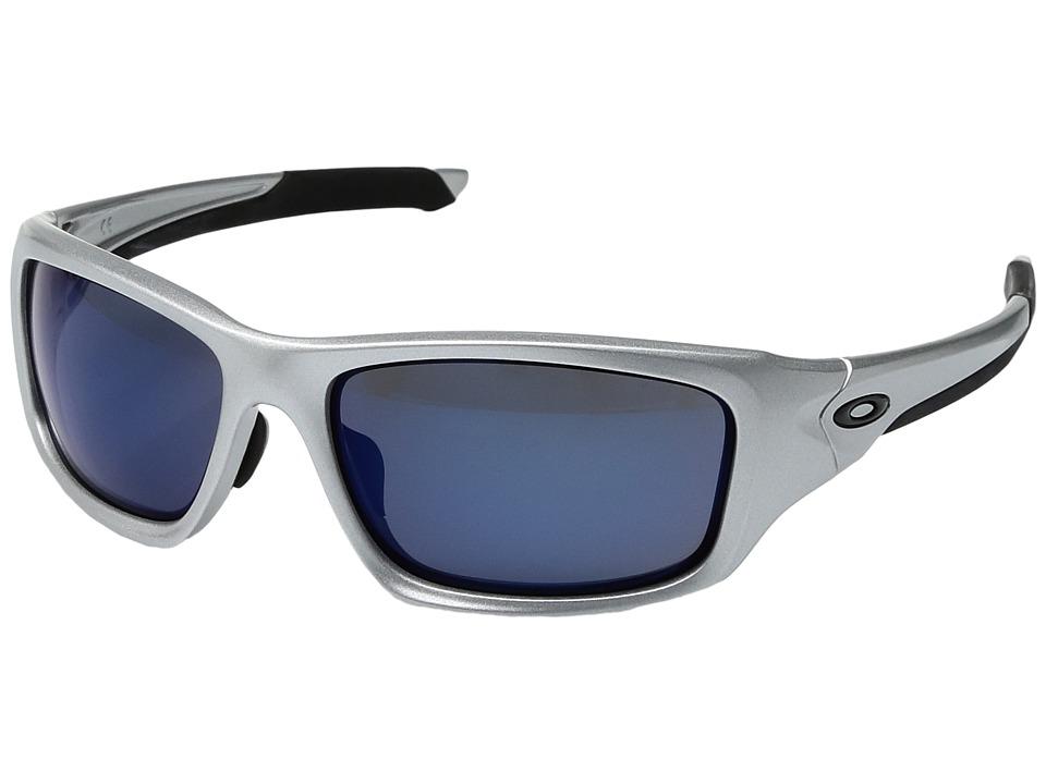 Oakley - (A) Valve (Silver/Ice Iridium) Sport Sunglasses