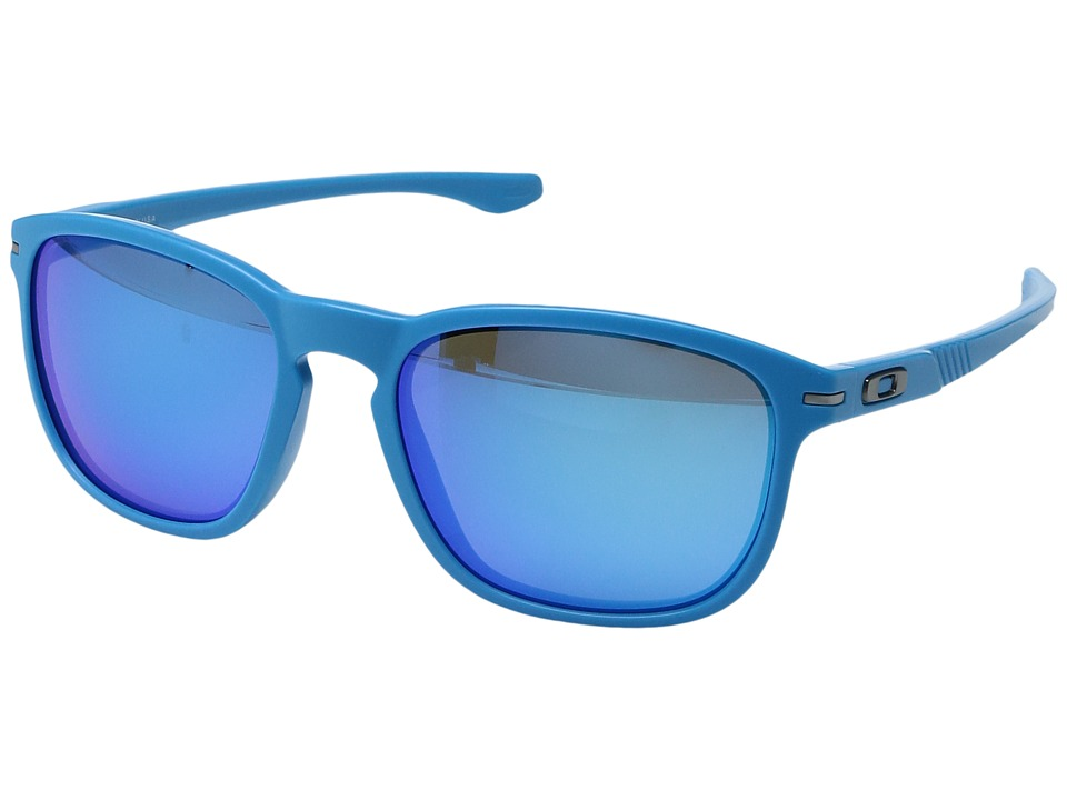 Oakley - Enduro (Matte Sky/Sapphire Iridium) Sport Sunglasses