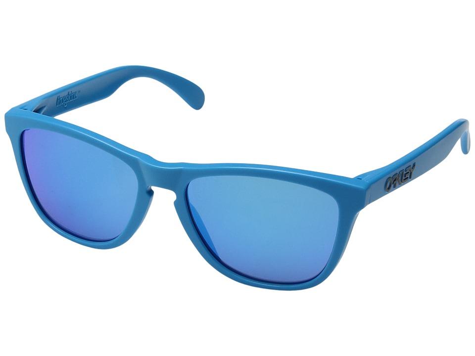 Oakley - Frogskins (Matte Sky/Sapphire Iridium) Sport Sunglasses