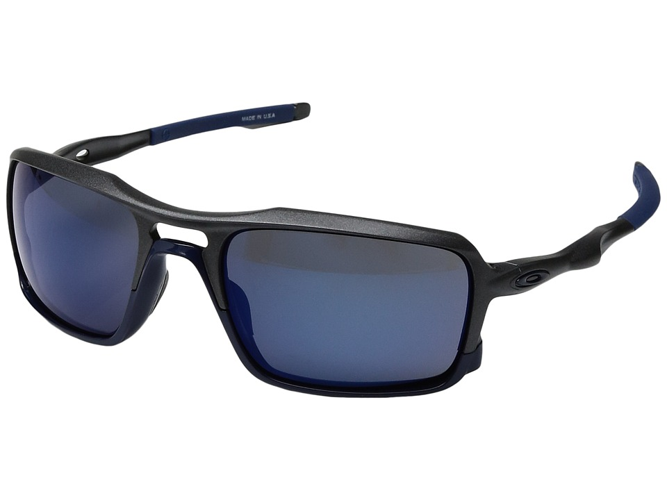 Oakley - Triggerman (Steel/Ice Iridium) Sport Sunglasses