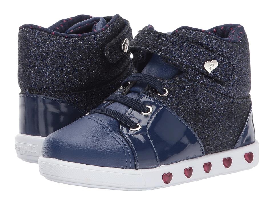 Pampili Sneaker Luz 165020 (Toddler/Little Kid) (Marinho) Girl