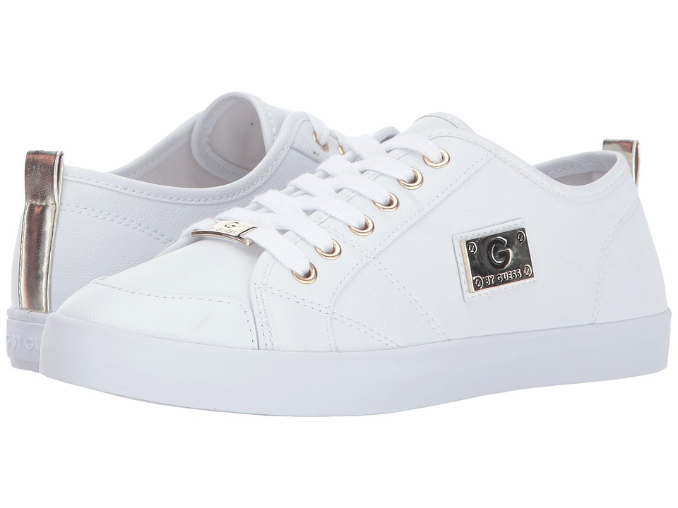 G by GUESS - Mallory (White 2) Women's Lace up casual Shoes