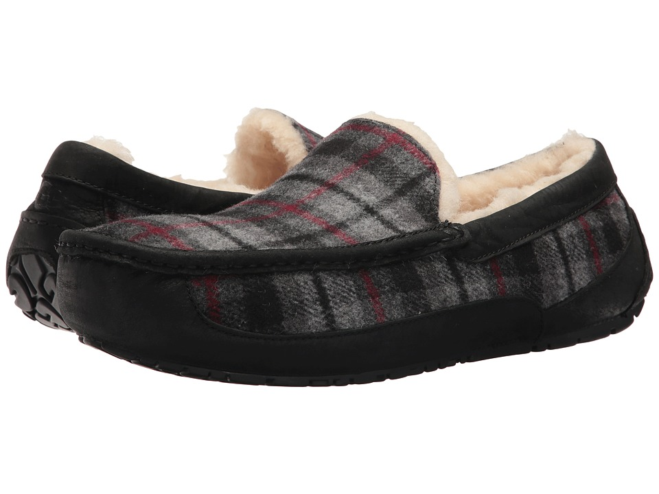 UGG - Ascot (Tartan Plaid) Men's Slippers