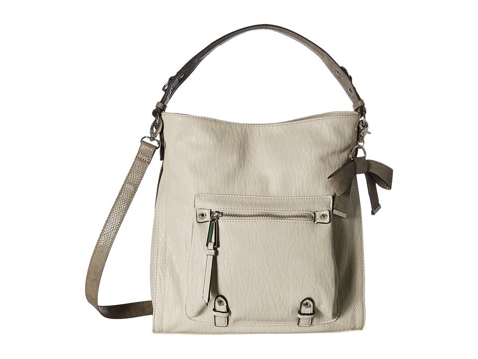 Jessica Simpson - Tatiana Hobo (Parchment/Fog) Hobo Handbags