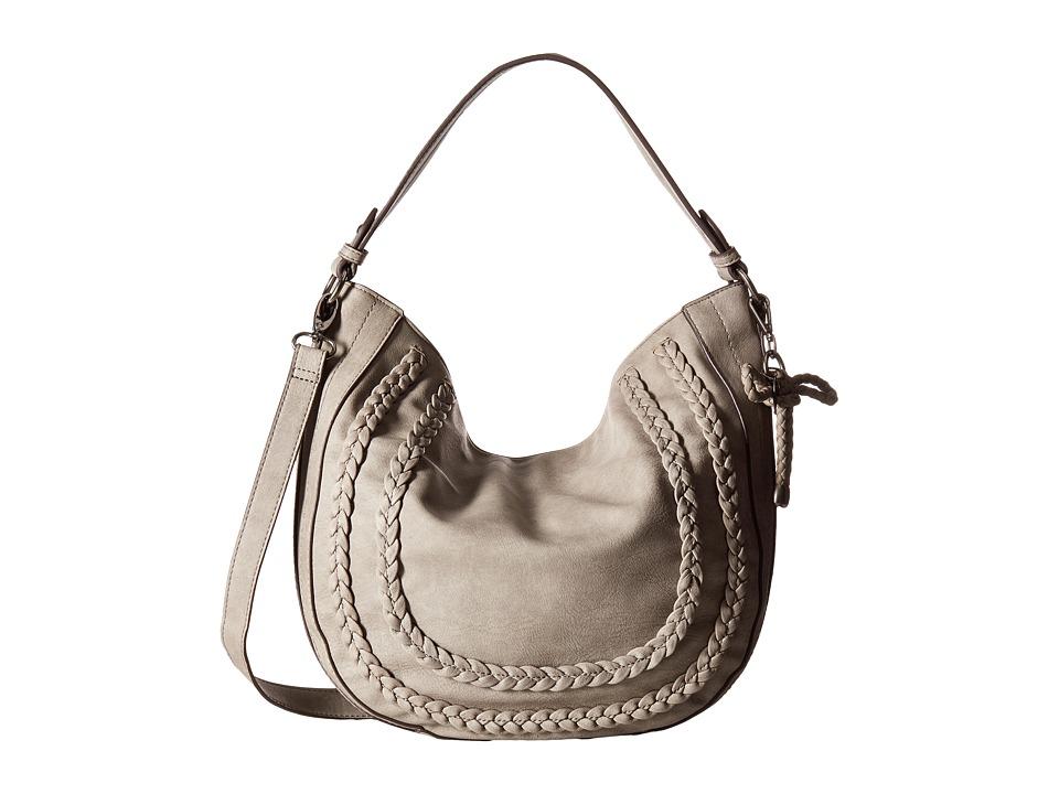 Jessica Simpson - Elina Crossbody Hobo (Fog) Hobo Handbags