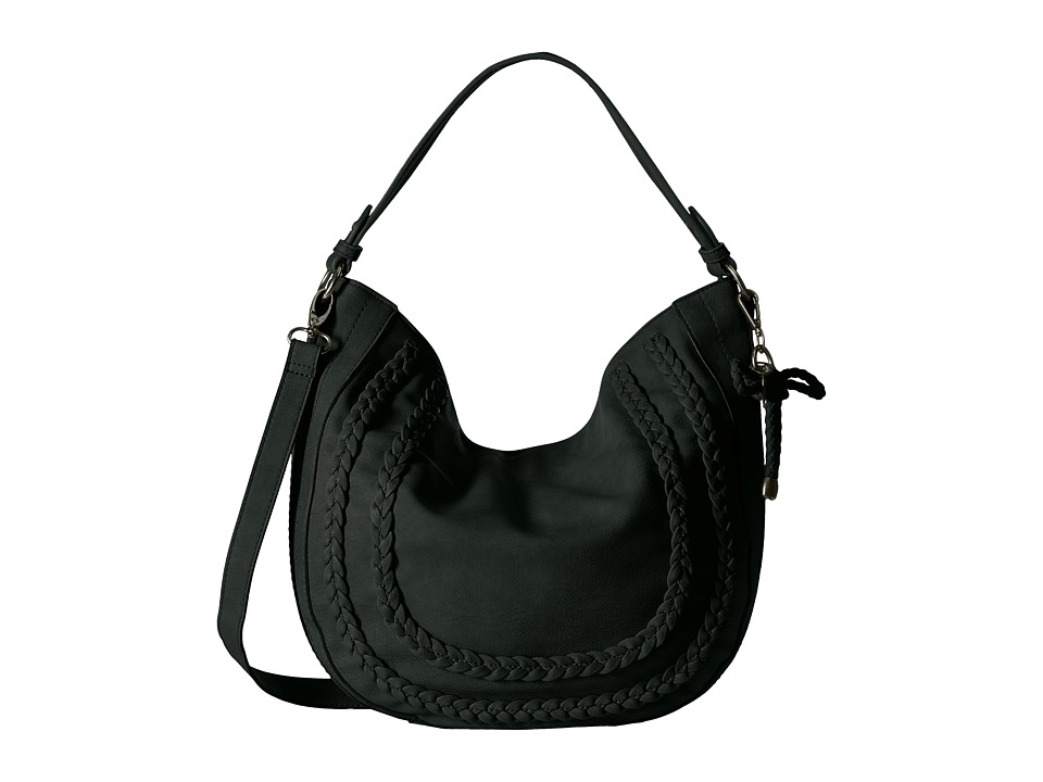 Jessica Simpson - Elina Crossbody Hobo (Black) Hobo Handbags