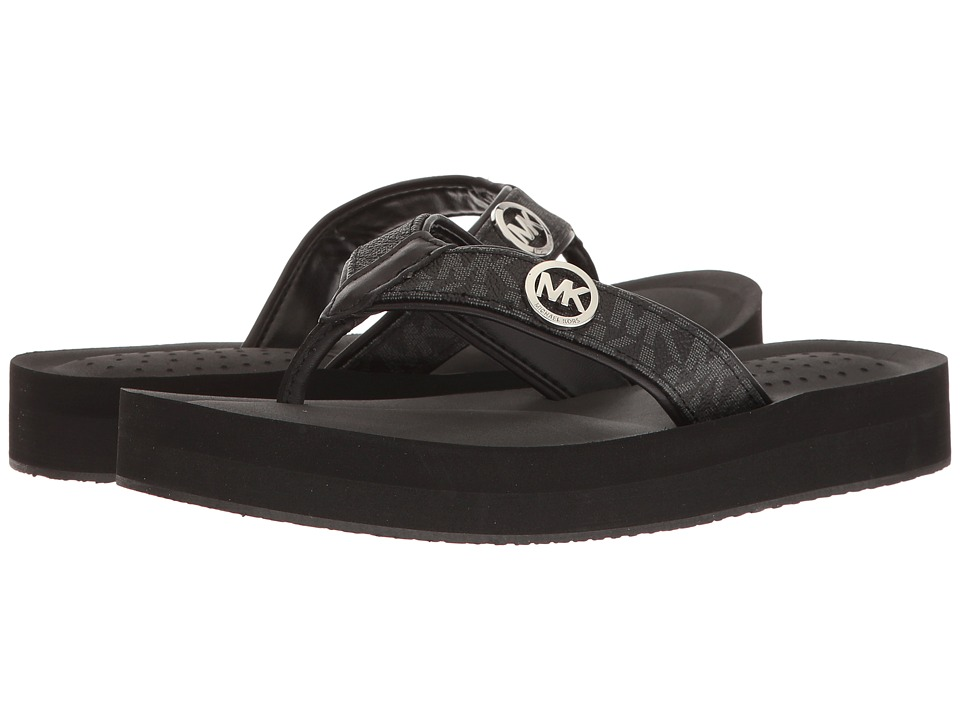 MICHAEL Michael Kors - Gage Flip Flop (Black) Women's Sandals