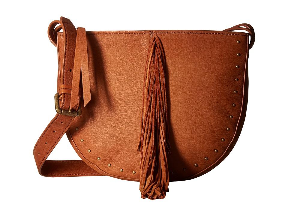Lucky Brand - Aspen Small Crossbody (Tan) Cross Body Handbags
