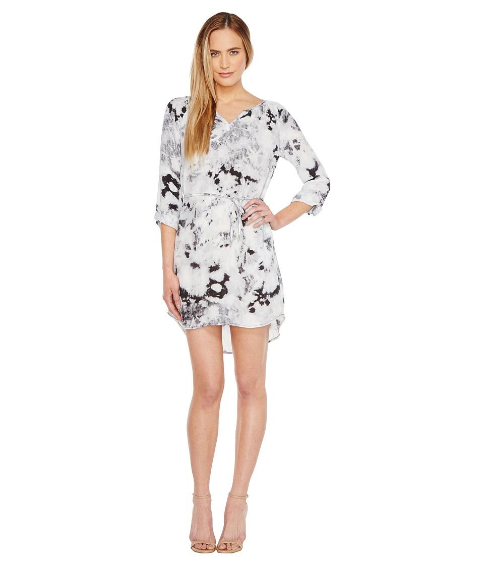 Calvin Klein Jeans - Graphic Print Modern Boho Dress (Soft Taupe) Women's Dress