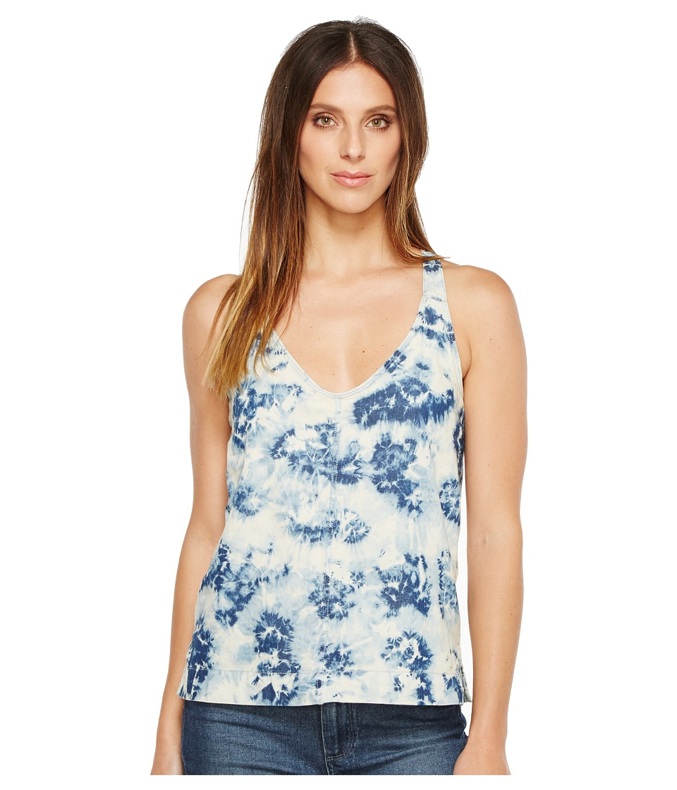 Calvin Klein Jeans Tie-Dye Tank Top (Indigo Graphic) Women