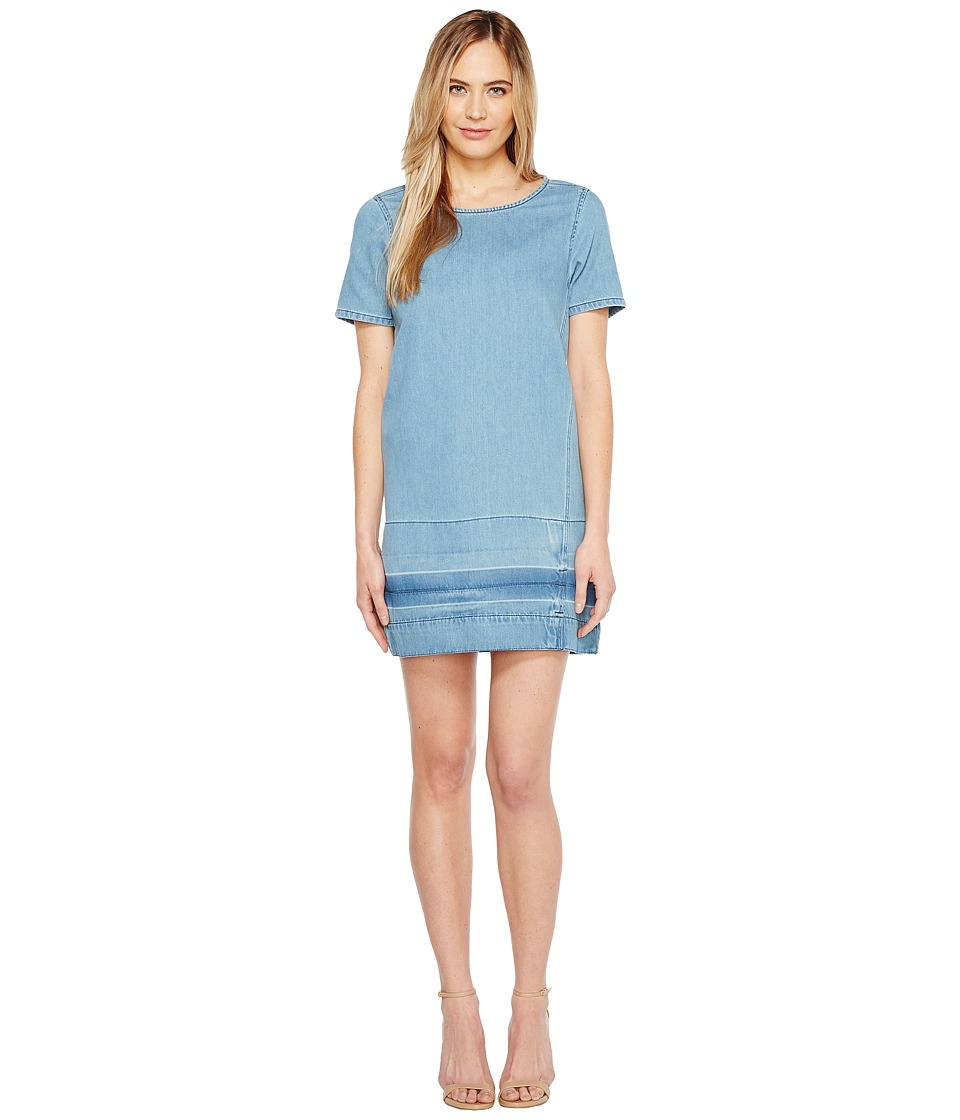 Calvin Klein Jeans - Let Down Hem Denim T-Shirt Dress (Lara Let Down) Women's Dress