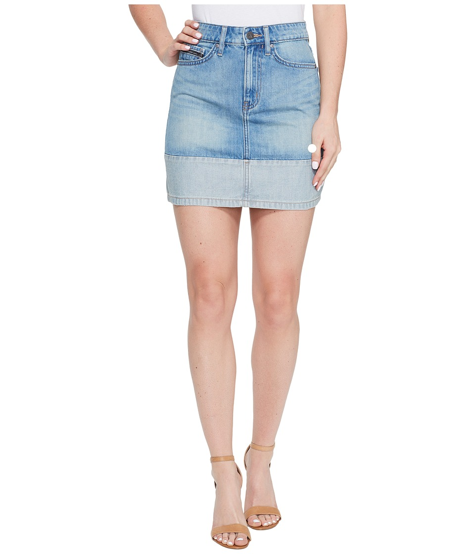 Calvin Klein Jeans - Face Reverse Mini Skirt (Joy Ride) Women's Skirt