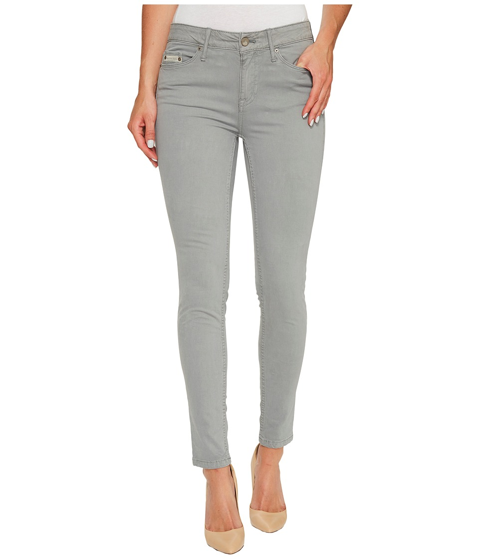 Calvin Klein Jeans - Garment Dyed Ankle Skinny Pants in Monument (Monument) Women's Jeans
