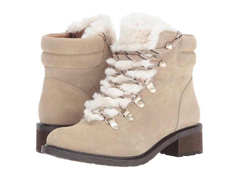 Sam Edelman Darrah 2 (Desert Sand/Off-White Velutto Suede Leather/Salomon Fur) Women