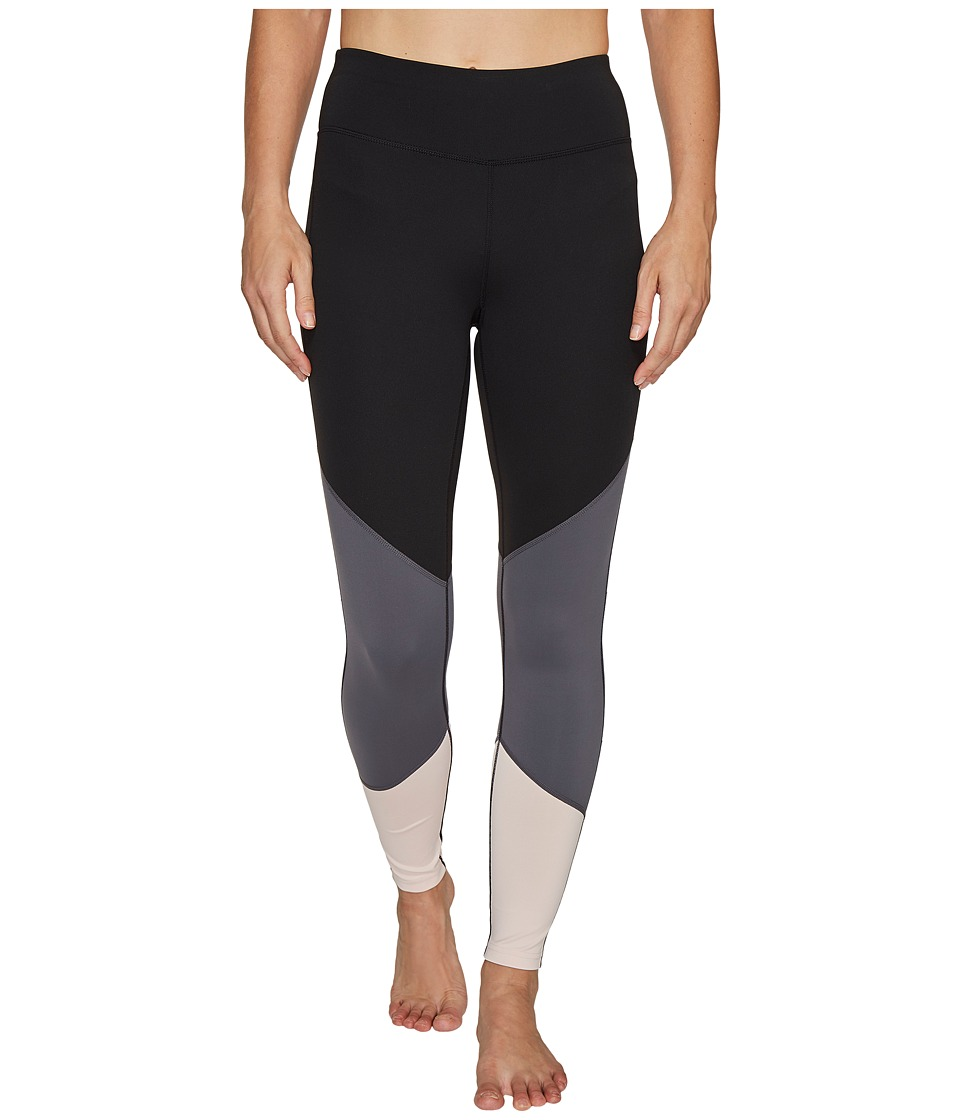 Ivanka Trump Performance Color Block Leggings (Black/Magnet/Blush) Women