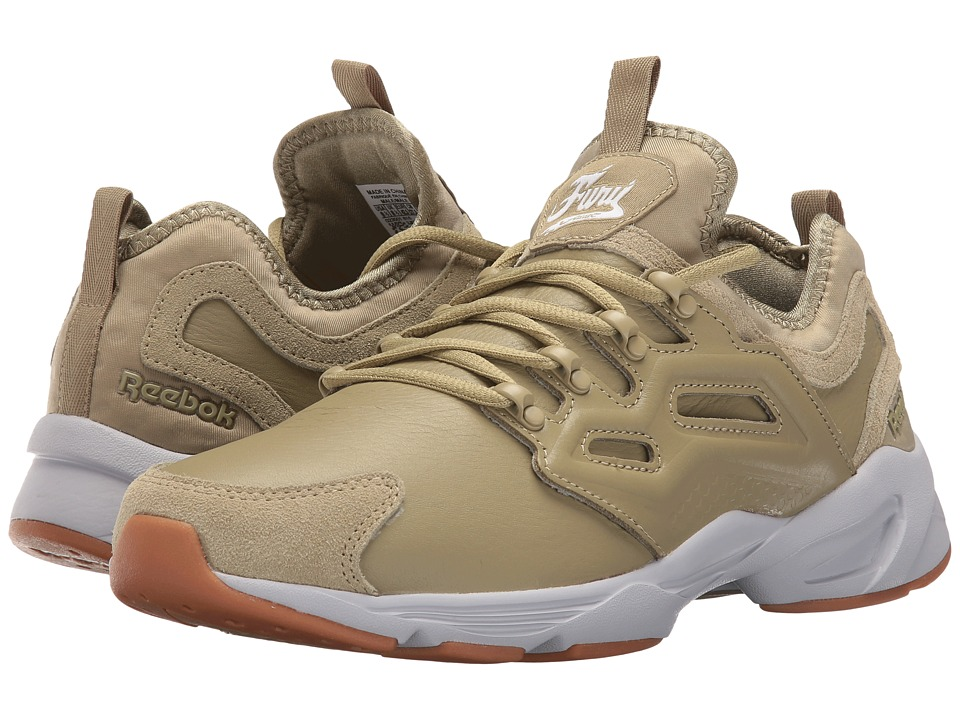 Reebok - Fury Adapt W (Acid Gold/White/Cloud Grey) Men's Shoes