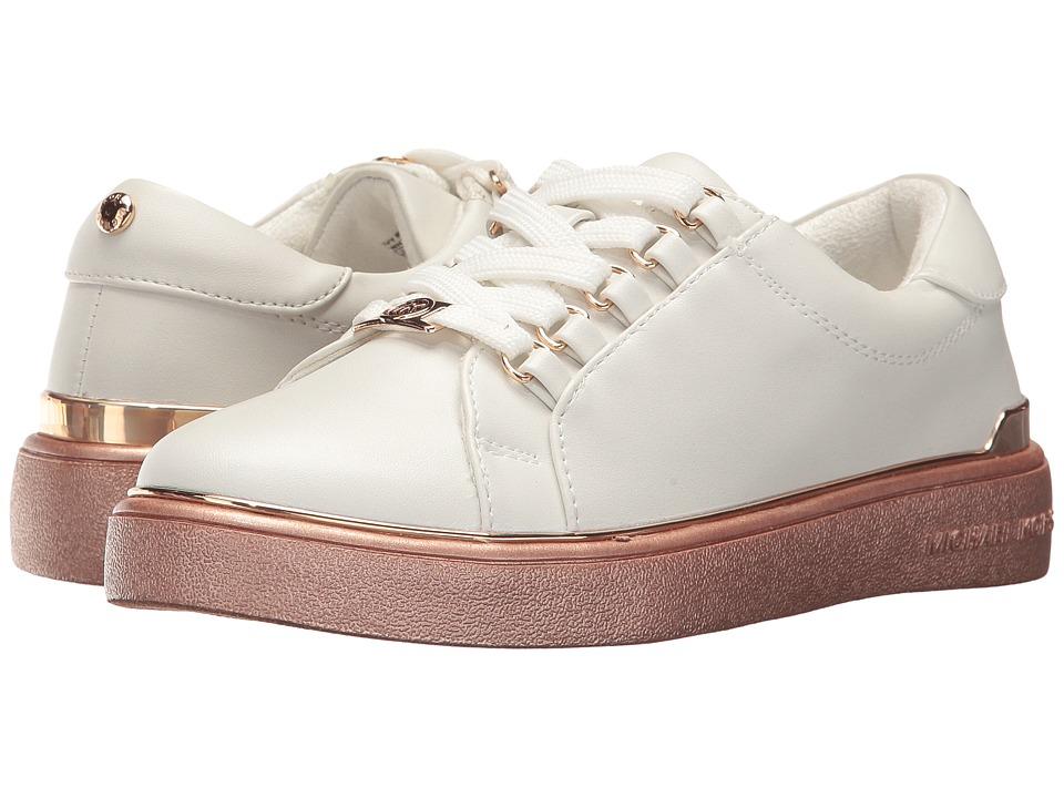 MICHAEL Michael Kors Kids - Ivy Ring (Little Kid/Big Kid) (White) Girl's Shoes