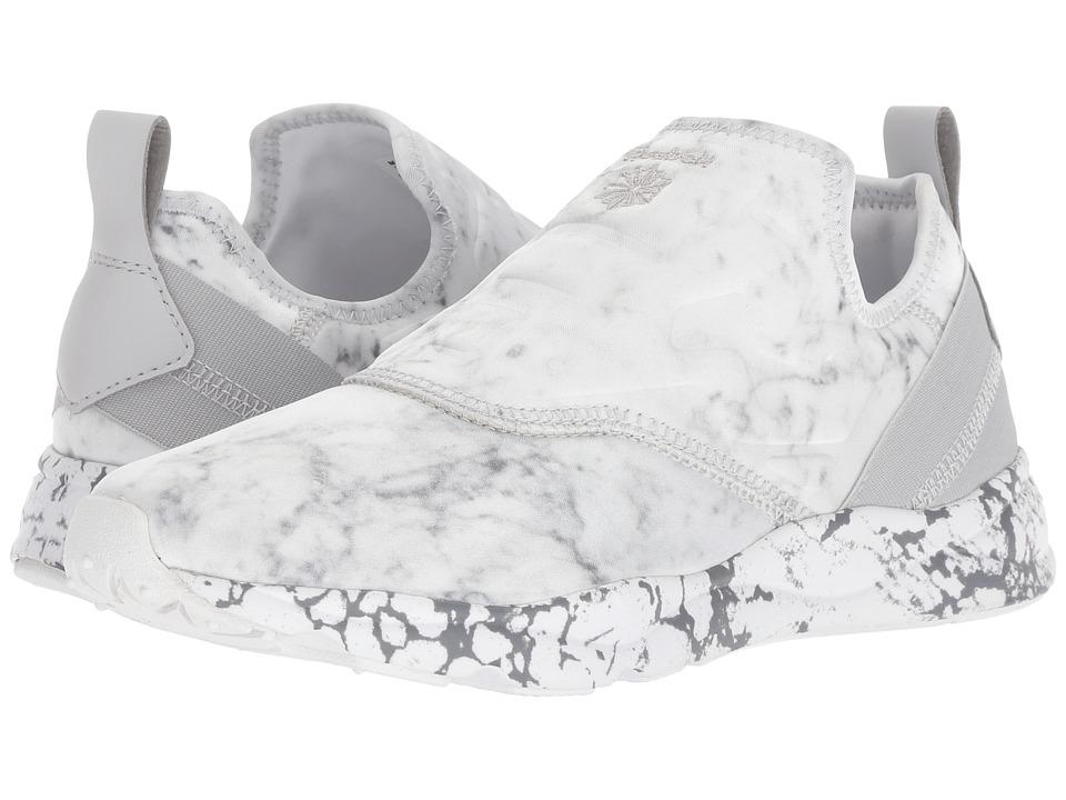 Reebok Furylite Slip-On Stone (White/Snowy Grey) Women