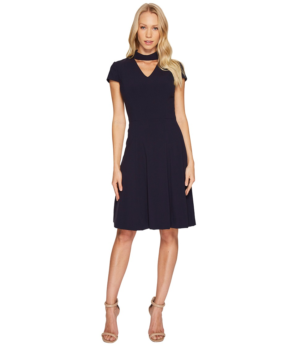 Tahari by ASL - Cut Out Dress (Navy) Women's Dress