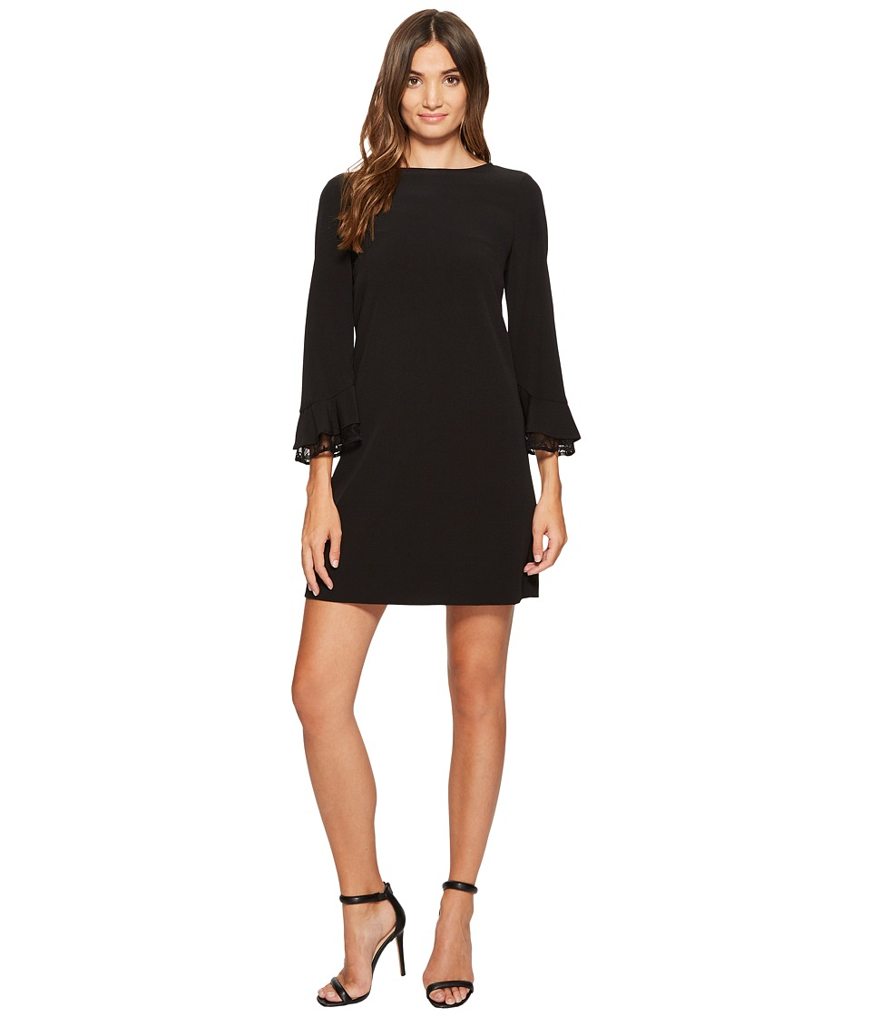 Tahari by ASL - Lace Yoke Shift Dress (Black) Women's Dress