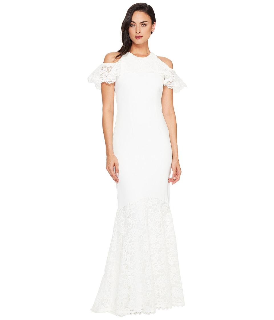 Nicole Miller - Carlessa Bridal Gown (White) Women's Dress