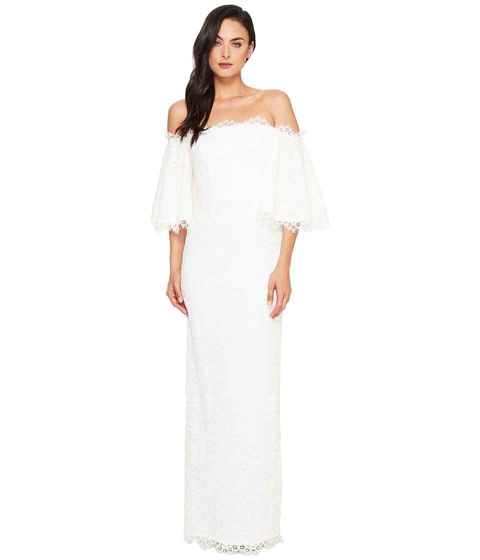 Nicole Miller - Devyn Lace Bridal Gown (Ivory) Women's Dress