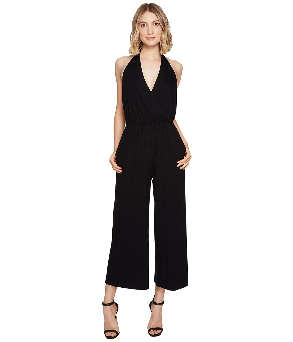 Nicole Miller - Eric Halter Playsuit (Black) Women's Jumpsuit & Rompers One Piece