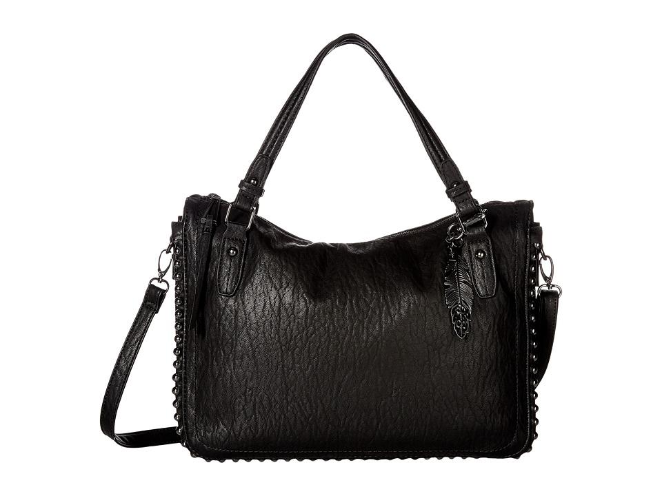 Jessica Simpson - Camile Satchel (Black) Satchel Handbags