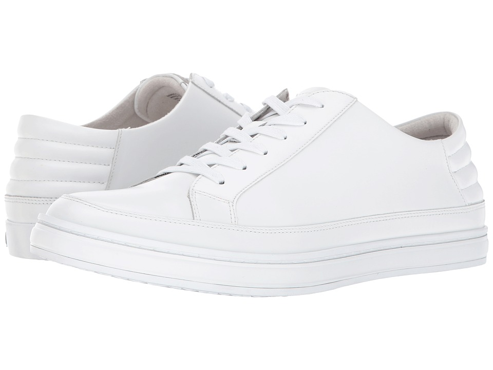 Kenneth Cole New York - Brand Stand (White) Men's Shoes