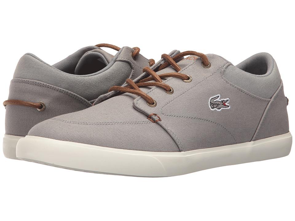 Lacoste Bayliss Vulc 317 2 (Grey/Brown) Men