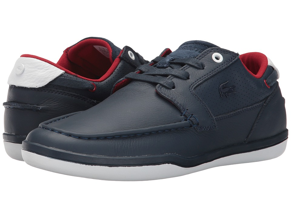 Lacoste - Deck-Minimal 317 1 (Navy/White) Men's Shoes