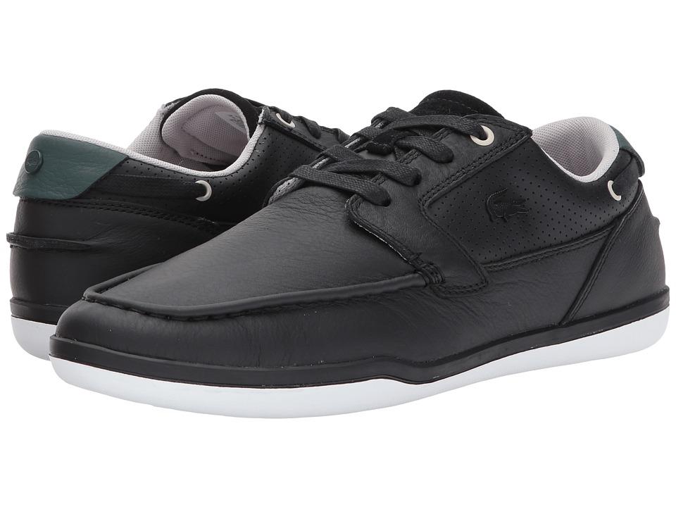 Lacoste - Deck-Minimal 317 1 (Black) Men's Shoes