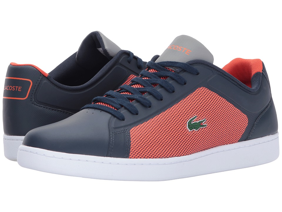 Lacoste - Endliner 317 2 (Navy/Red) Men's Shoes