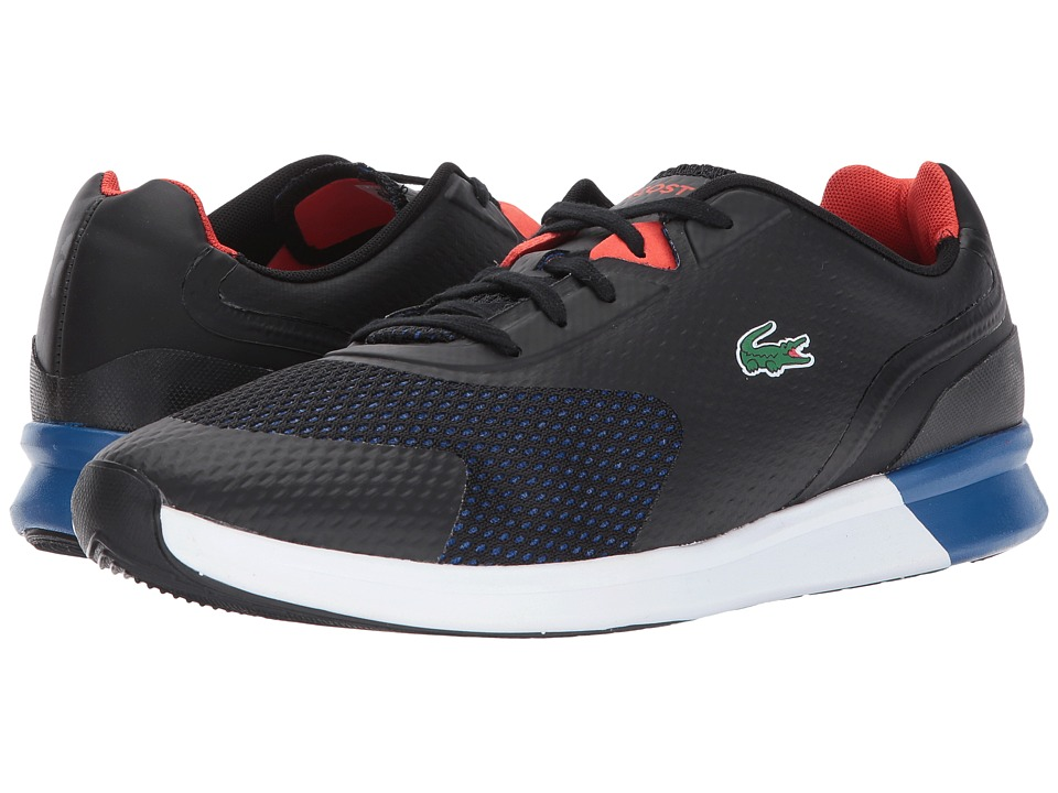 Lacoste - LTR.01 317 6 (Black/Dark Blue) Men's Shoes