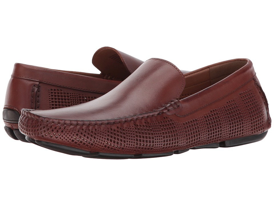 Kenneth Cole Reaction - Design 20156 (Cognac) Men's Slip on Shoes