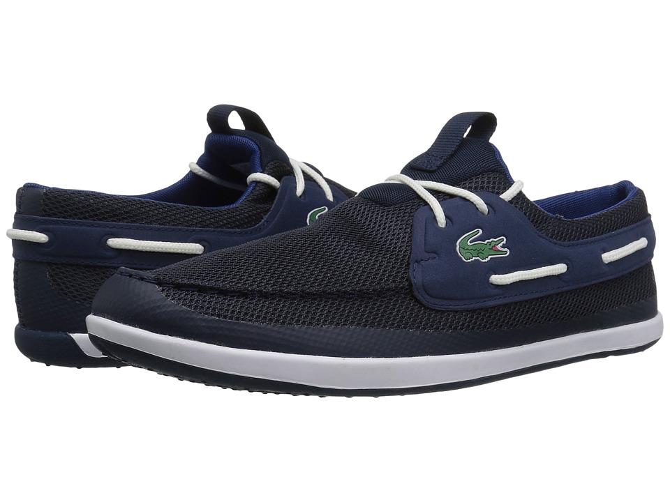 Lacoste - L.Andsailing 317 1 (Navy/Dark Blue) Men's Shoes