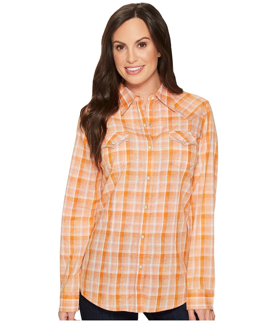 Etounes Old Navy Plaid Shirt For Women Size Xxl Orange Plaid