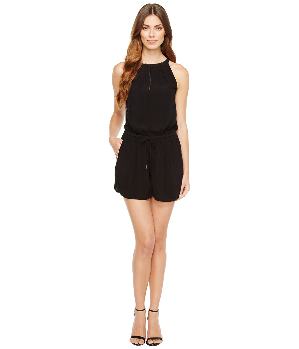 Calvin Klein Jeans - High Neck Bare Romper (Black) Women's Jumpsuit & Rompers One Piece