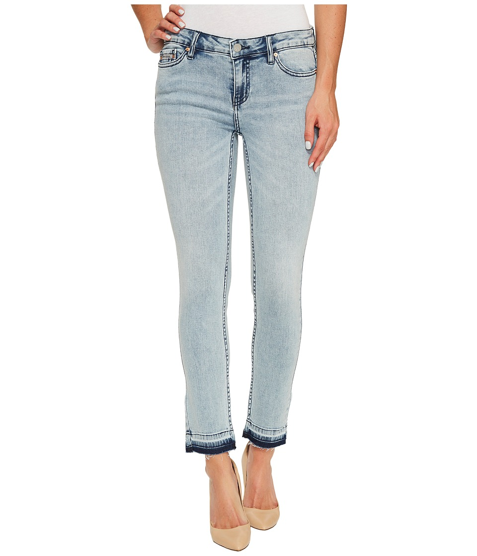 Calvin Klein Jeans - Ankle Skinny Jeans in Isla Blue Destruct Wash (Isla Blue Destruct) Women's Jeans