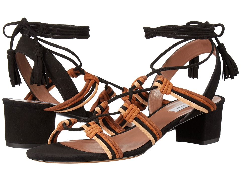 Tabitha Simmons - Mendi (Multi Brown/Black Kid Suede) Women's 1-2 inch heel Shoes