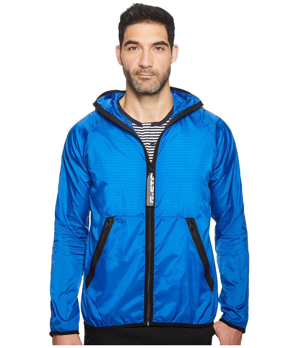 G-Star - Strett Hood Gymbag Jacket (Light Nassau Blue) Men's Coat
