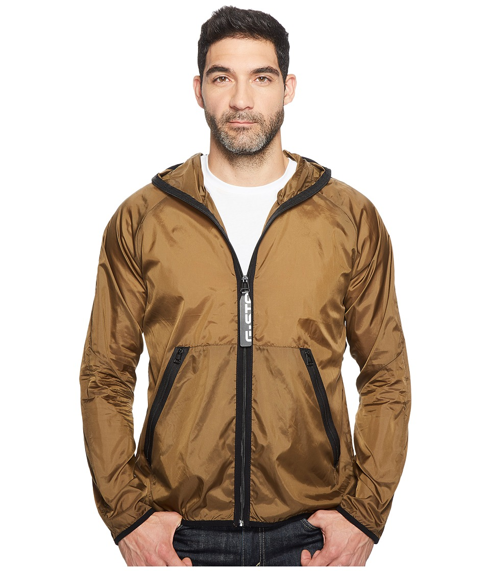 G-Star - Strett Hood Gymbag Jacket (Aged Olive) Men's Coat