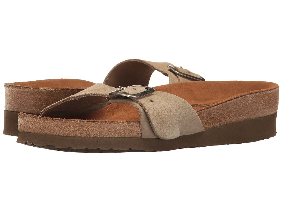 Naot Footwear - Sahara (Sand Suede) Women's Shoes