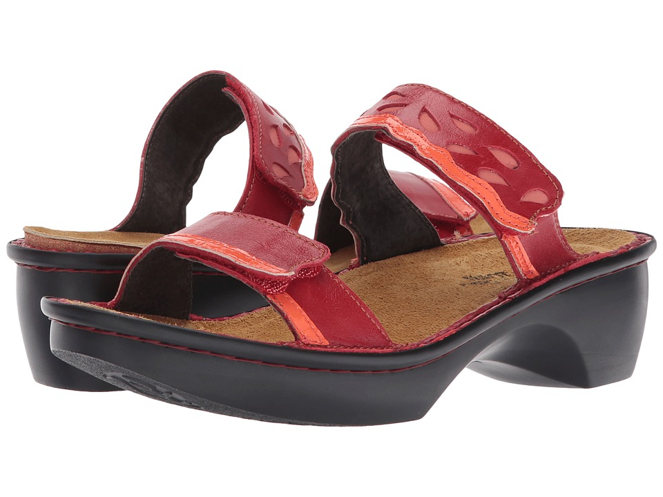 Naot Footwear - Cologne (Poppy Leather Combo) Women's Shoes