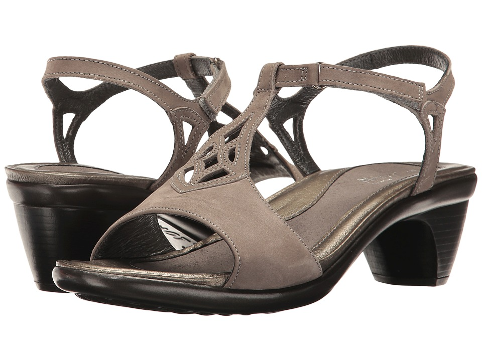 Naot Footwear - Revere (Slate Leather) Women's Shoes