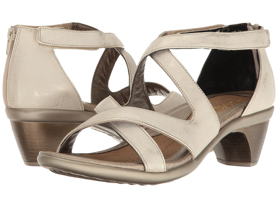 Naot Footwear - Myth (Dusty Silver Leather) Women's Sandals