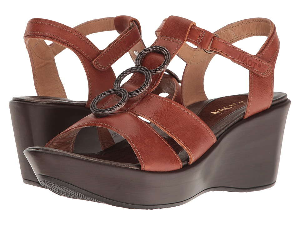 Naot Footwear - Peace (Auburn Leather) Women's Sandals