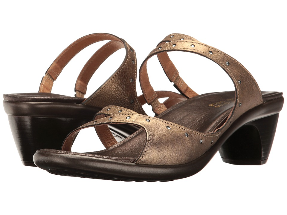 Naot Footwear - Vital (Brass Leather) Women's Dress Sandals