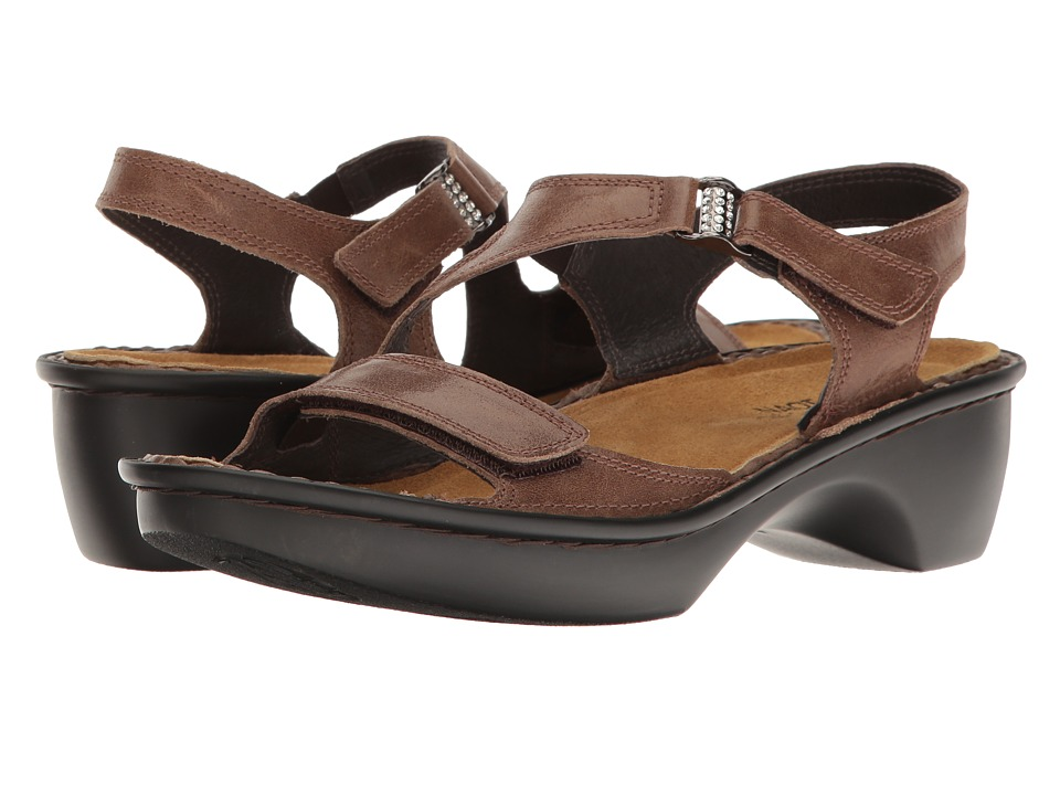 Naot Footwear - Faso (Hazlenut Leather) Women's Sandals