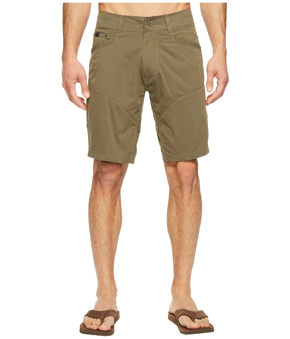 KUHL - Kontra Air Shorts - 10 (Dark Moss) Men's Shorts